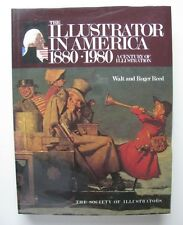 BOOK of AMERICAN ILLUSTRATION ART 1880-1980 AUTOGRAPHED by WALT & ROGER REED