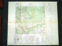 Grande carta topografica Rotzo o Rotz Vicenza Veneto Dettagliatissima IGM