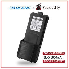 Baofeng 3800mAh UV-5R Extended Battery For 5R Plus BF-F8 UV-5R F8HP 5RX3 RD-5R