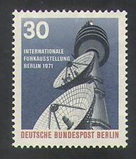 Germany (B) 1971 Radio Tower/Broadcasting/Dish Aerial/Communications 1v (n35411)