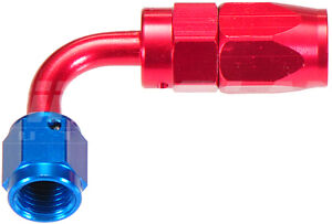 AN-4 90 Degree Hose End Fitting for Braided Hose