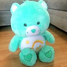 "Care Bear XL Jumbo 30"" Wish Bear Plush MINT CONDITION"