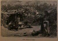 1883 Arizona Norton's Landing Tombstone Tucson Camp Lowell illustrated