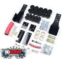 """Chevy/GMC 2"""" Body Lift Kit 1998-2004 S-Series Pickup 2WD/4WD Zone Offroad #C9201"""