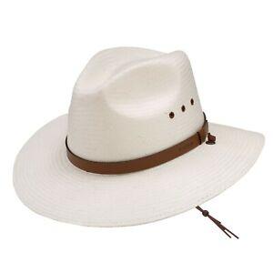 Stetson Los Alamos Shantung Straw Hat