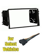Double Din Car Stereo Radio Install Mount Dash Kit Combo for 05-06 Kia Spectra 5