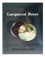 Lacquered Boxes by Detlev Richter (1997, Hardcover)