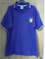Italia Original Calidad Toffs 1990s de la Copa del Mundo Camiseta De Fútbol Talla XL