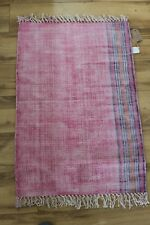 RIVIERA MAISON HAND CRAFTED BILBAO INDIAN CRAFTED COTTON RUG 60 x 90cm
