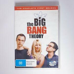 The Big Bang Theory Season 1 DVD TV Series Free Post Region 4 AUS - Comedy