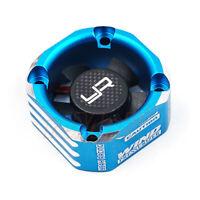 Yeah Racing Aluminum Case 30mm Booster Cooling Fan Blue RC Cars Drift #YA-0576BU