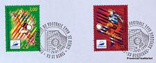 FOOTBALL 1998 FRANCE  Yt 3130 OBLITERATION 1er JOUR SUR NOTICE PHILATELIQUE