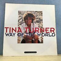 """TINA TURNER Way Of The World 1991 UK 12"""" Vinyl Single EXCELLENT CONDITION"""