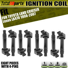 8x Ignition Coils for Lexus LX470 Toyota Landcruiser 1998-2007 UZJ100 2UZ-FE V8