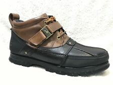 Ralph Lauren Polo Hardy II Leather Ankle Boots, 13 D / MEN