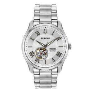 Bulova - Wilton Automatic Heartbeat Skeleton Men's Watch - 96A207