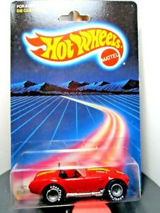 HOTWHEELS...VINTAGE <> 1986 CARDED <> CLASSIC COBRA  GYG /RARE REAL RIDERS