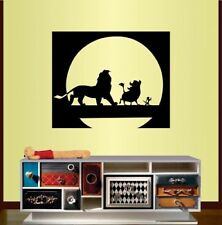 Wall Vinyl Decal Lion Warthog Meerkat Animals Kids Nursery Sticker Decor 1808