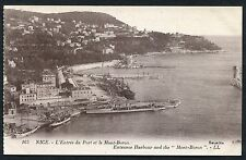 C1920's View of Warships in the Harbour & Mont-Boron, Nice, France