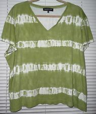 Women's Plus Size *3X (*runs short) COTTON KNIT TOP from Jones New York EUC