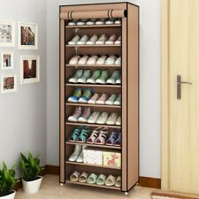 Multi-layer Assembled Dust-Proof Storage Shoe Cabinet Stand Rack BEIGE  ⭐⭐⭐⭐⭐