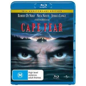 Cape Fear (20th Anniversary Edition) Blu-Ray **Region B**