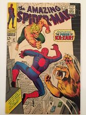 Amazing Spider-Man # 57 Higher Grade Featuring The Power Of Ka-Zar! Romita Lee