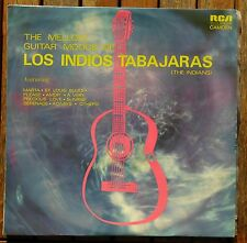 """THE MELLOW GUITAR MOODS OF LOS INDIOS TABAJARAS (The Indians) 12"""" Record   (100)"""