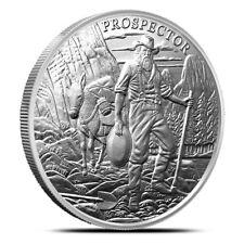 1 oz Silver Round - Prospector