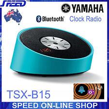 Yamaha TSX-B15 Clock Radio & Bluetooth Speaker – BLUE
