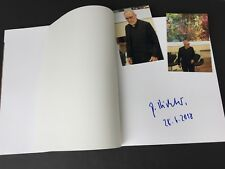GERHARD RICHTER  In-person signed datiertes Buch 'Abstraction' RARITÄT + Foto