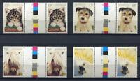 40725) Australia 1991 MNH Domestic Animals 4v Gutter Pair