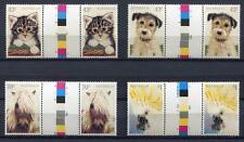 40725) AUSTRALIA 1991 MNH** Domestic animals 4v gutter pair