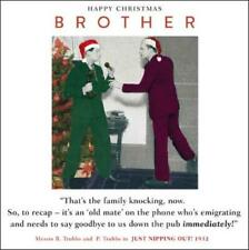 Brother Funny Christmas Greeting Card Retro Humour Drama Queen