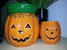 """Scentsy Halloween Lot """"JACK O LANTERN"""" Full Size Warmer, Plug In NIB with bar"""