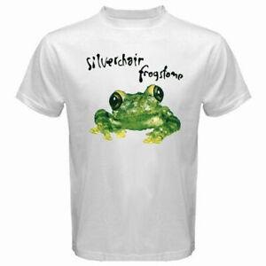 New SILVERCHAIR FROGSTOMP Logo Men's White T-Shirt Size S - 3XL Free Ship