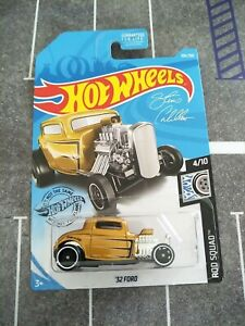 HOT WHEELS 32 FORD GOLD ROD SQUAD DIECAST 1/64 BRAND NEW