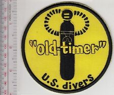 SCUBA Diving USA U.S. Divers Aqua-Lung Mid 1960 to mid 1970 Old Timer 4 inches