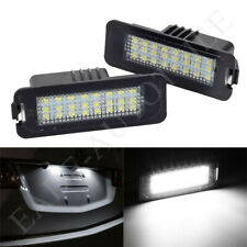 2x LED KENNZEICHENBELEUCHTUNG VW GOLF 5 6 7 PASSAT BEETLE POLO 9N SCIROCCO