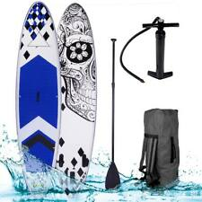 "SUP Board Stand Up Paddle Paddling Surfboard ""Candy Skull"" aufblasbar Paddel"