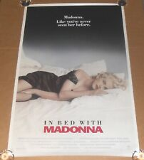 In Bed with Madonna Movie Poster 1991 Original 40x26.5