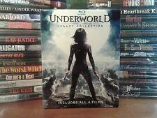 Underworld/ Evolution/Underworld: Rise Of The Lycans/Awakening (Blu-ray) Rare