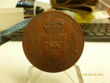 Province of Quebec Agriculture And Industrial Exhibition Medal 49mm