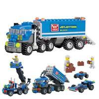 163pcs/Set LKW Dumper Baukasten mit Figuren Kinder Ausbildung Geschenk