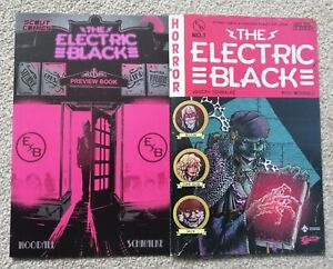 Electric Black issue 0 and issue 1 (Exclusive Variant) Tales from the Crypt