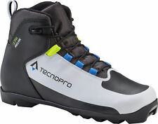 Tecno Pro Herren Langlauf - Schuh ULTRA Prolink weiss schwarz blau 270426