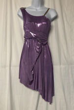 Curtain Call Dance Costumes Women's Lavender One Shoulder Dress Size Adult Small