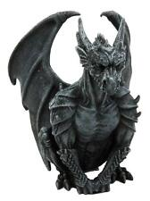 Gargoyle Guardian Winged Statue Figurine. Gothic Decorative Collectible Gift