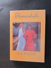 A.S. Byatt. ELEMENTALS. First Edition. Signed. Mint