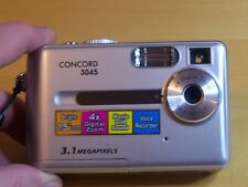CONCORD 3045 3.1 MP DIGITAL CAMERA-SILVER